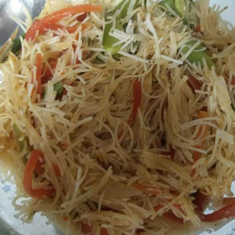 How to make Veg. rice noodles