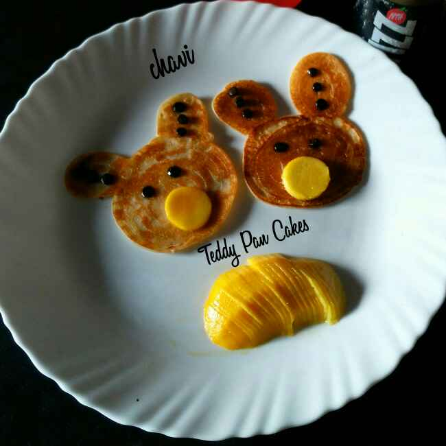How to make Teddy Pan Cakes
