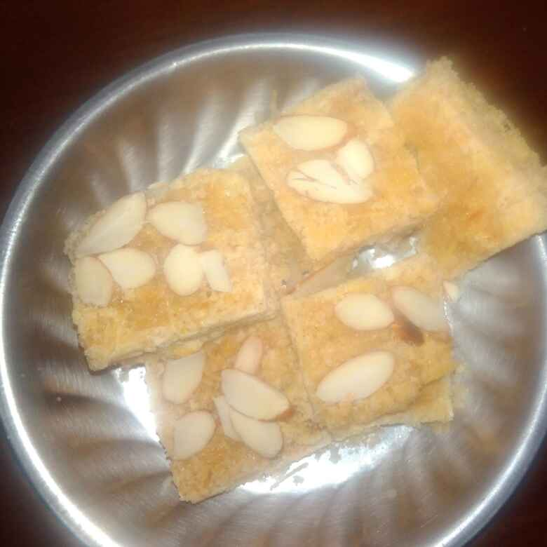 Photo of CHANA dal shevai burfi by Chayya Bari at BetterButter
