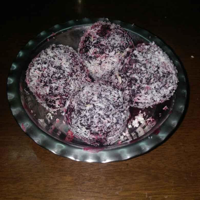 Photo of BEET dryfruit sweet balls by Chayya Bari at BetterButter