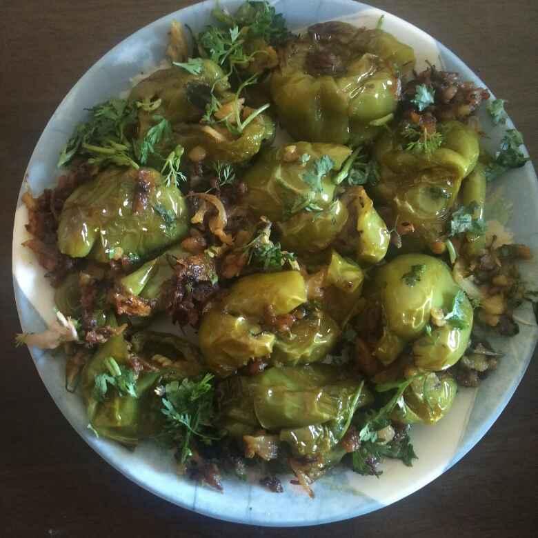 How to make BHOPLI mirchi stuffed batata