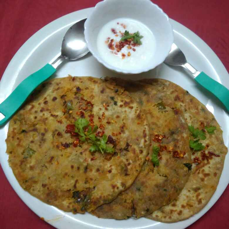 Photo of PANEER paratha by Chayya Bari at BetterButter