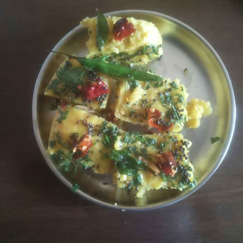 How to make ढोकळा