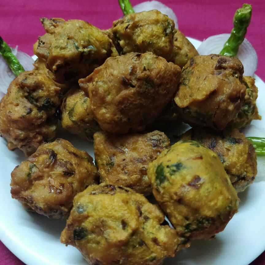 How to make गोल भजी