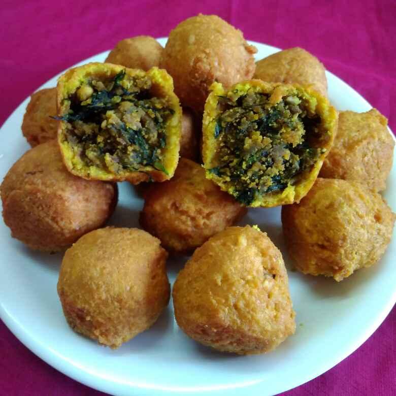 Photo of METHI kachori stuffed kadhi gola by Chayya Bari at BetterButter