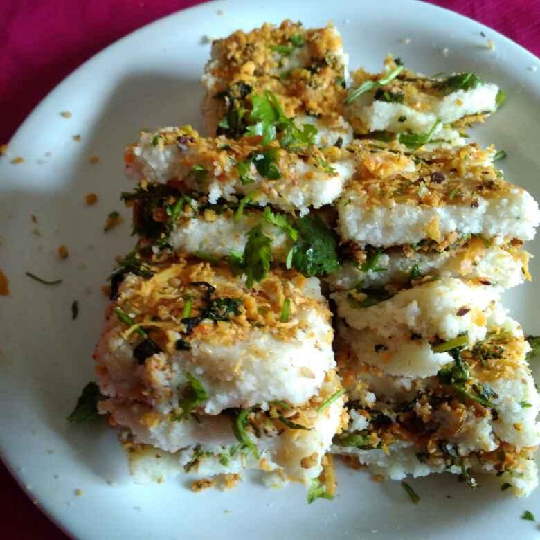Photo of RAVA stuffed sambarvadi fusion by Chayya Bari at BetterButter