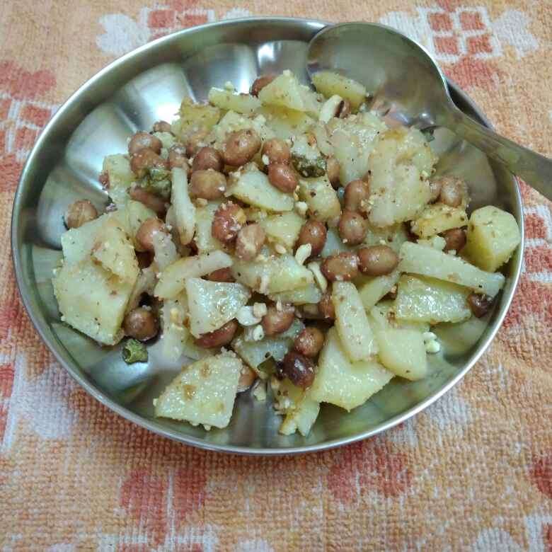 Photo of BATATA shengdana oosal by Chayya Bari at BetterButter