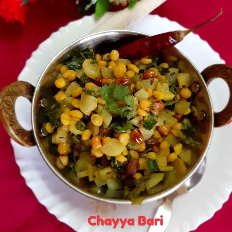 Photo of Daal Mula Bhaji by Chayya Bari at BetterButter