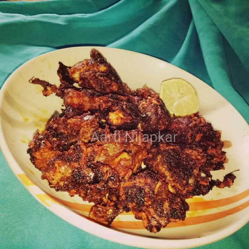 Photo of Pan fry Chicken Bhuna by Aarti Nijapkar at BetterButter