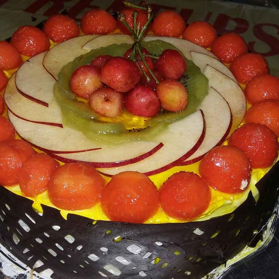 How to make Fresh Fruits Gateux