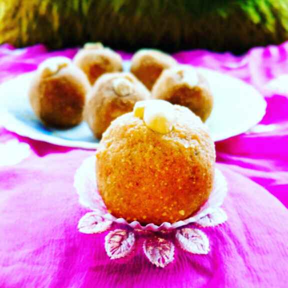 How to make Besan Rava Ladoo