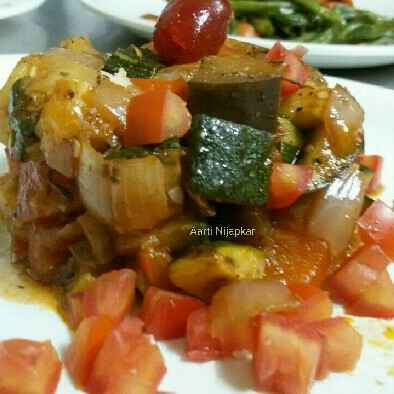 Photo of Bell pepper Ragout by Aarti Nijapkar at BetterButter
