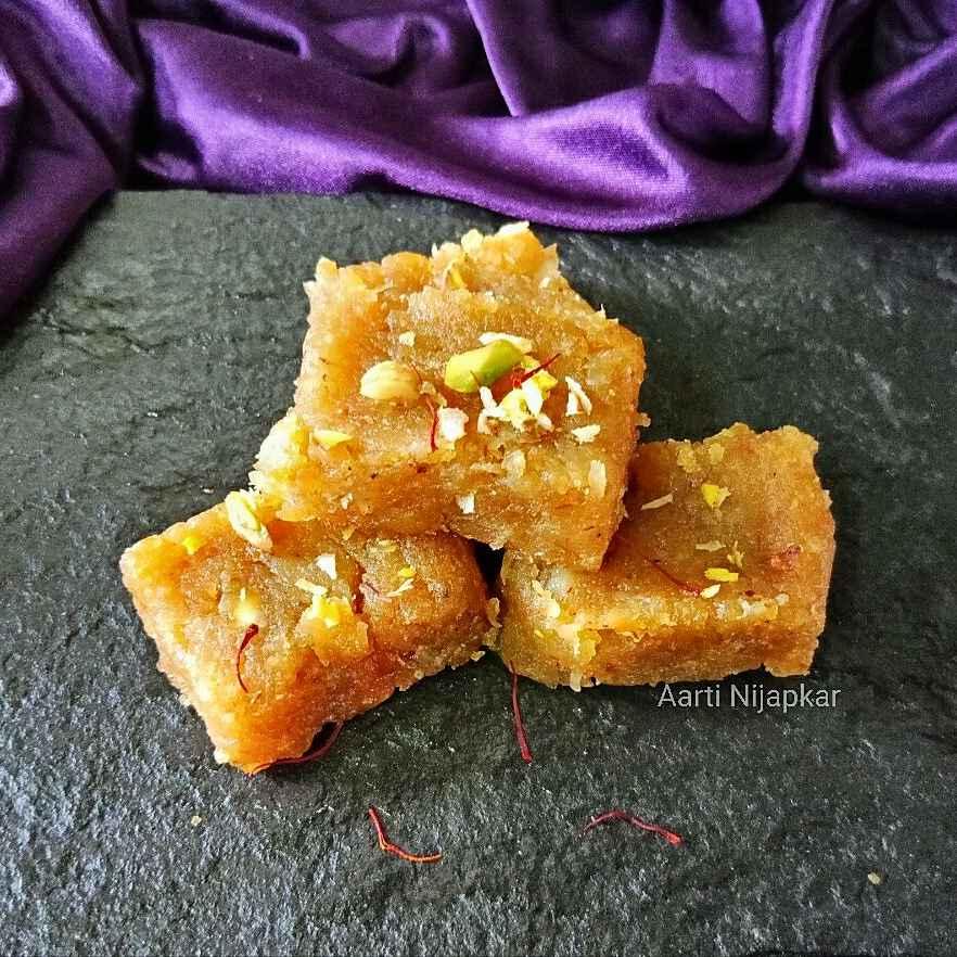 Photo of Sweet Potato Barfi by Aarti Nijapkar at BetterButter