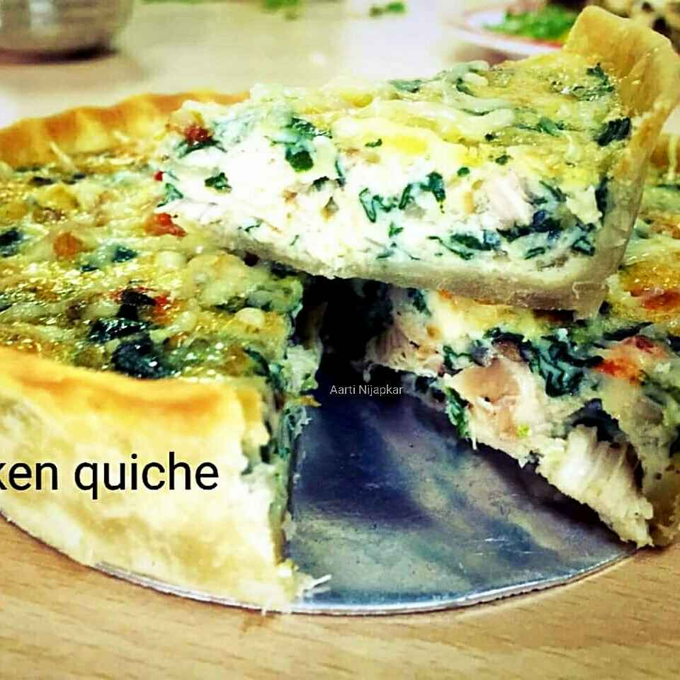 Photo of Chikan quiche by Aarti Nijapkar at BetterButter