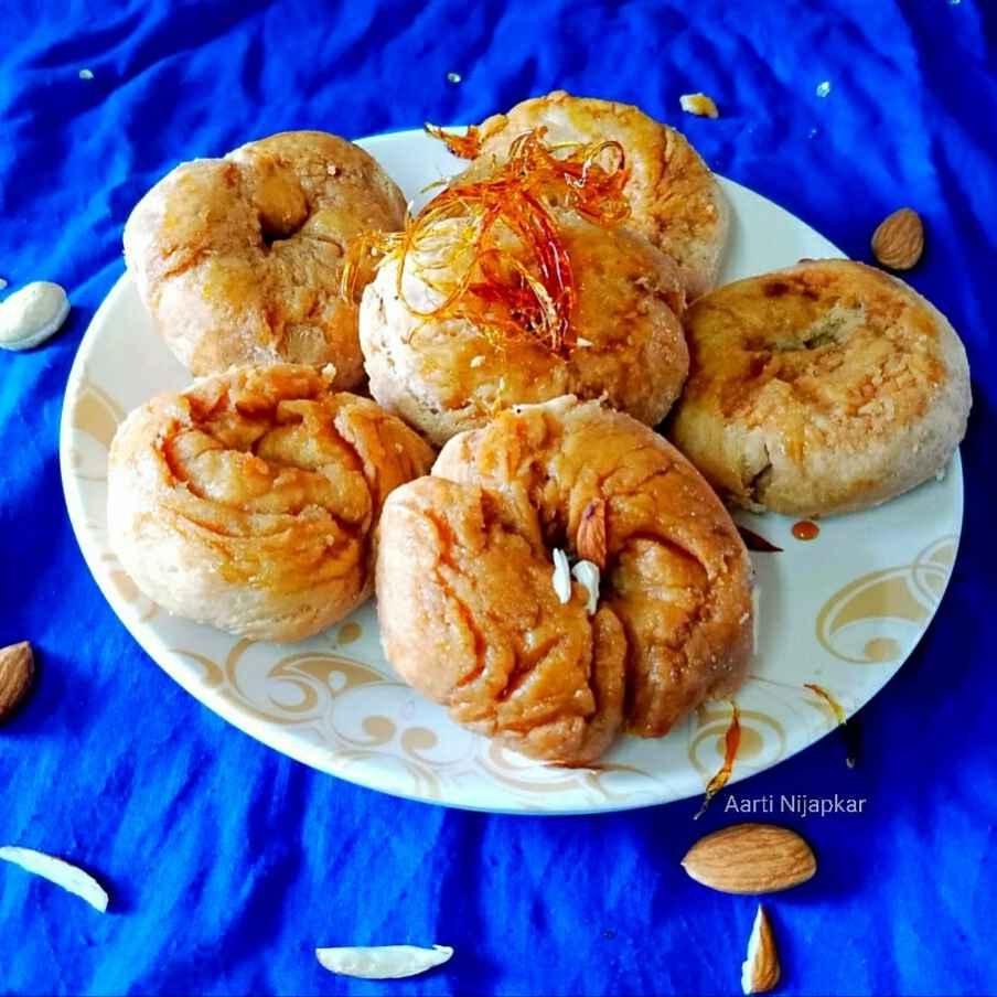 How to make Stuffed Balushahi