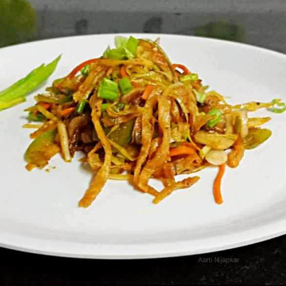 Photo of Leftover Chapati Noodles by Aarti Nijapkar at BetterButter