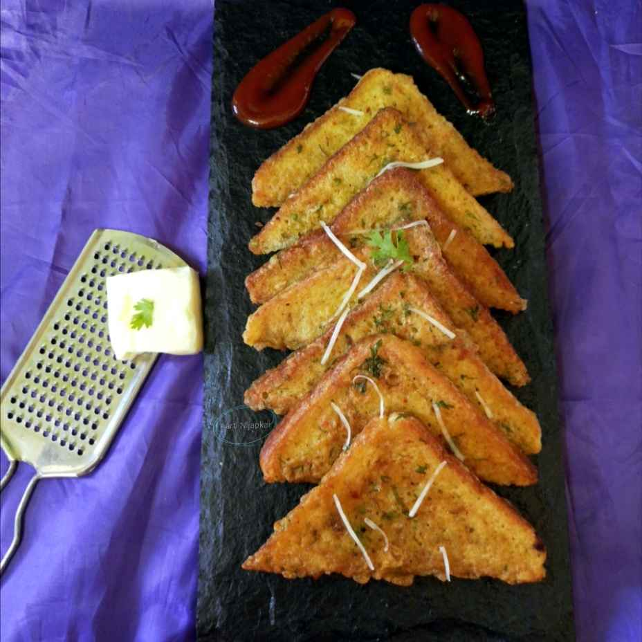 Photo of Bread cheese Pattice by Aarti Nijapkar at BetterButter