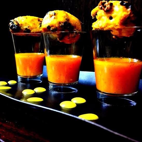 Photo of Murgh Aamras Kebab ( Mango) by Chef (Mrs) Reetu Uday Kugaji at BetterButter