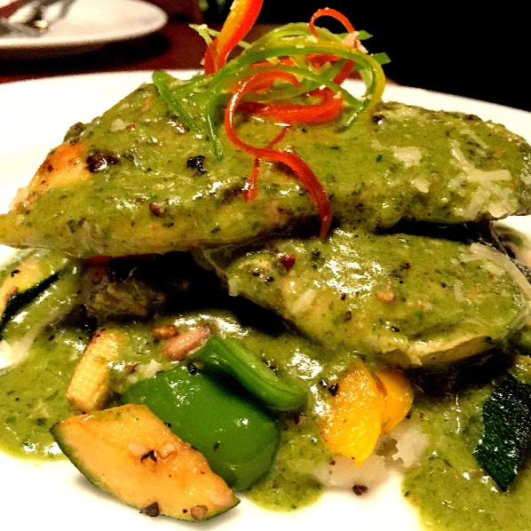 How to make Grilled Chicken with Pesto sauce