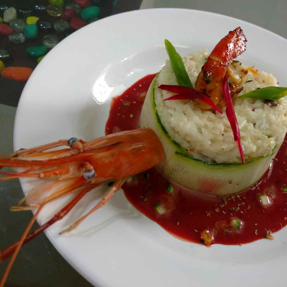 Photo of Prawn Risotto by ChefVenkatesh Sharma at BetterButter