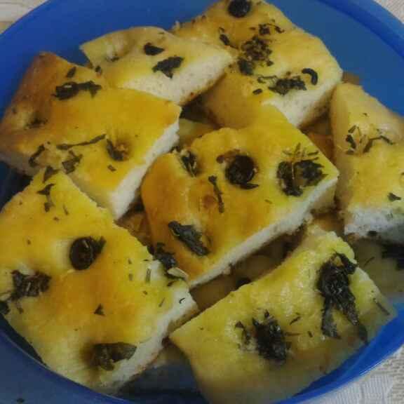 Photo of Italian Focaccia Bread by Chetna Parikh at BetterButter