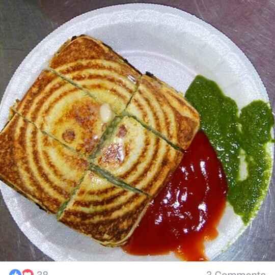 Photo of Butter Aloo Matar Sandwich by Chetna Parikh at BetterButter