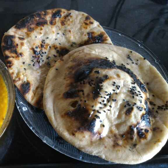How to make Stuffed whole wheat flour naan