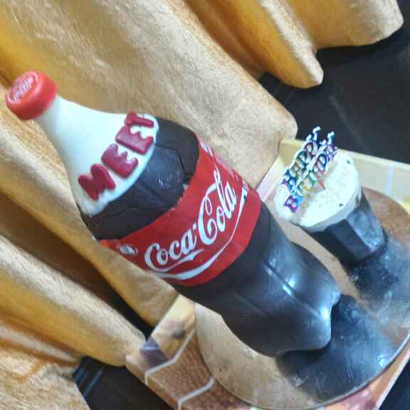 Photo of Coco cola theme Chocolate Cake by Chetna Parikh at BetterButter