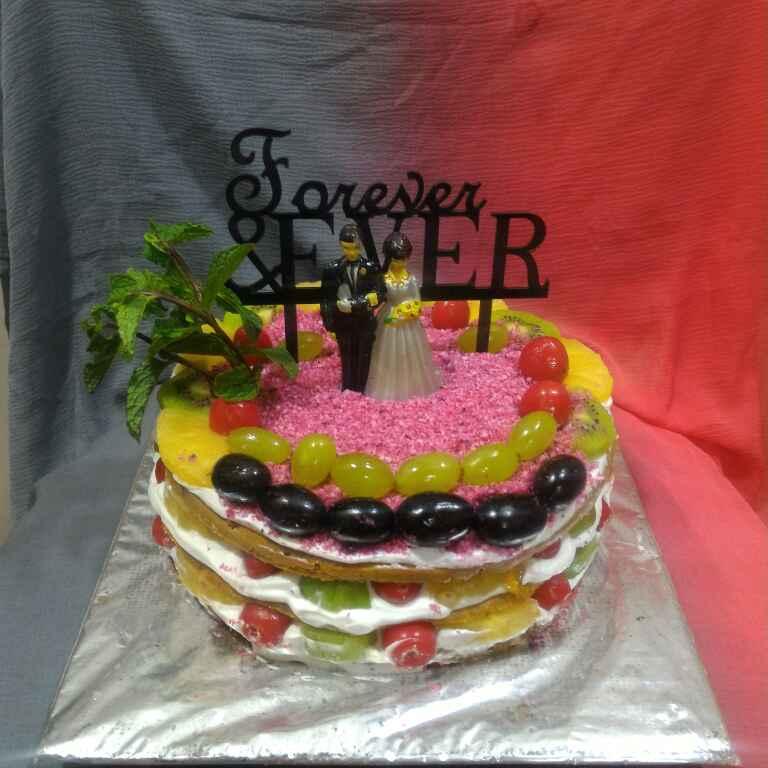 How to make Winter Fresh Fruits Naked Cake
