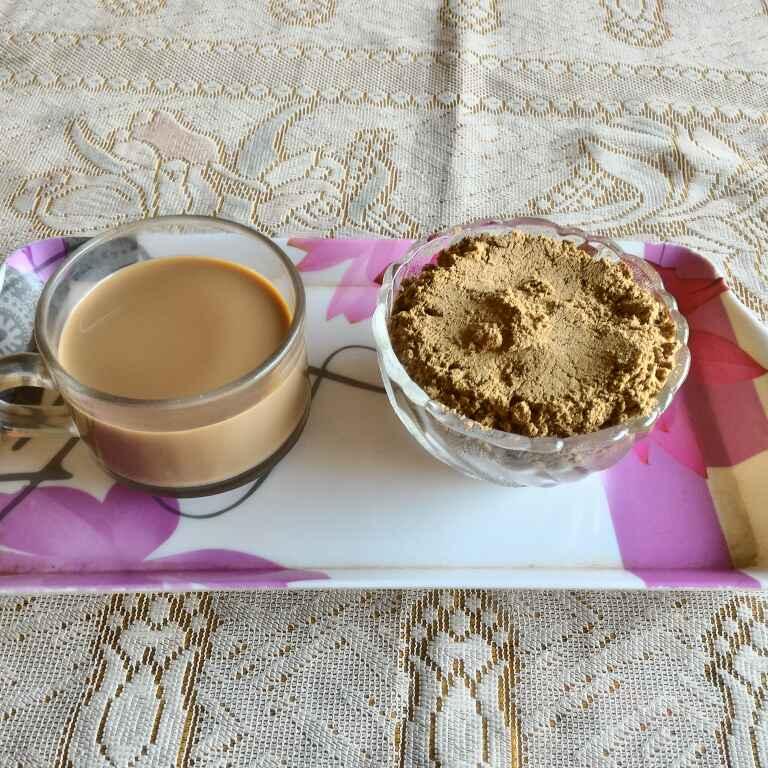 How to make Tea Masala in microwave