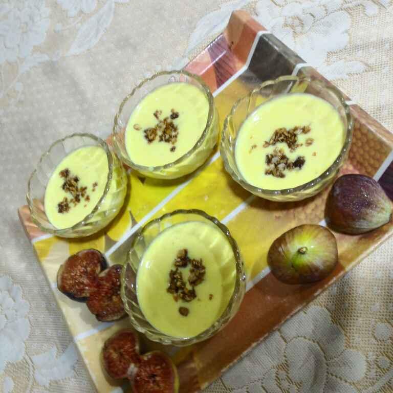 How to make Saffron and Cardamom Rice Cream