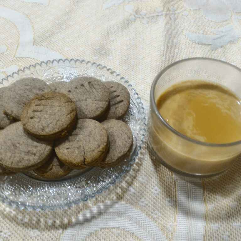 How to make Ragi Wheat Flour Biscuits