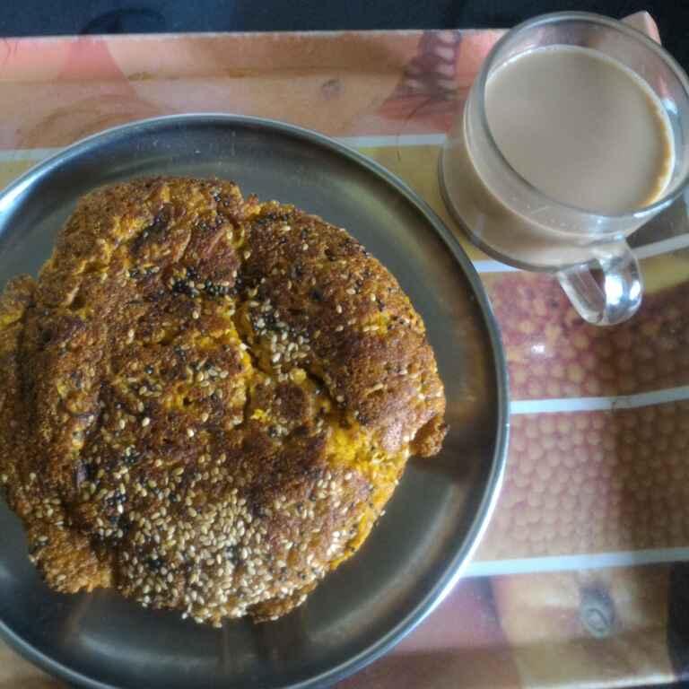 How to make Savory Vegetable Pan Cake
