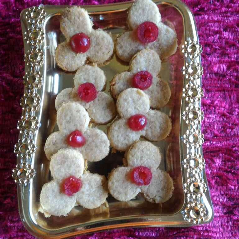 Photo of Cherry Coconut Cookies by Chetna Parikh at BetterButter