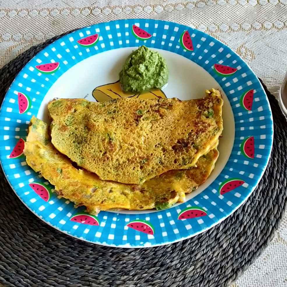 How to make Palak Cheela