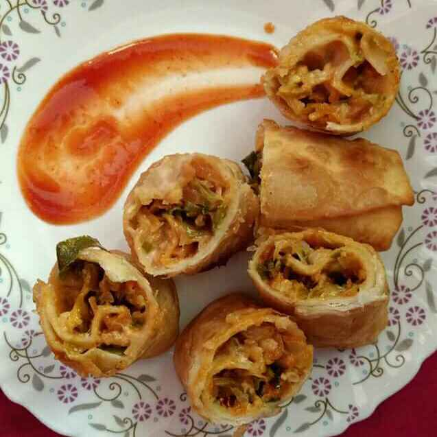 Photo of Vegetable spring rolls by Chhaya Agarwal at BetterButter