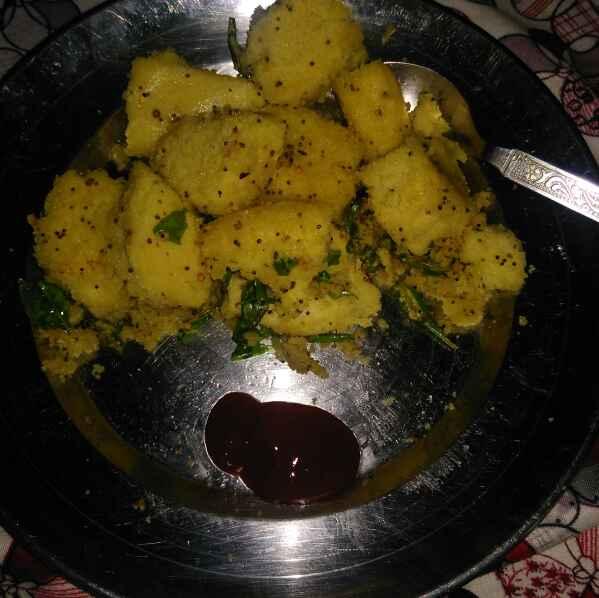 How to make Fried dhokla