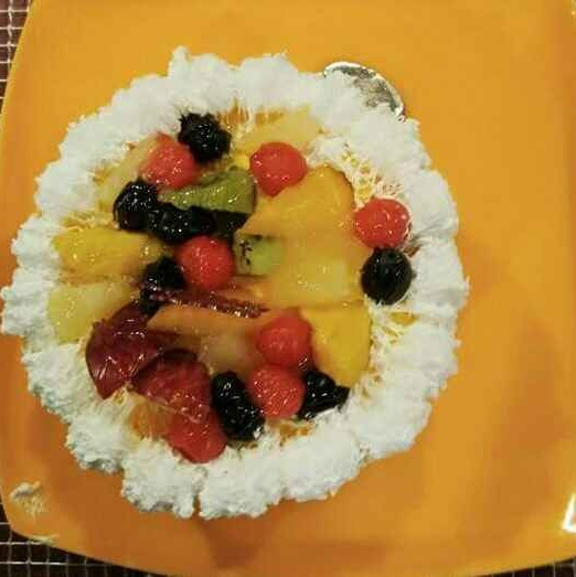 How to make Butter fruit cake