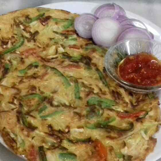 How to make एग चीला