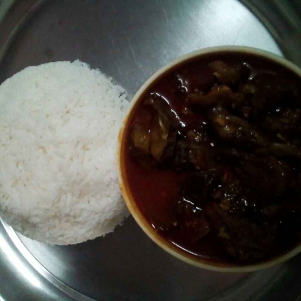 Photo of Sundried Mutton curry by Chinnaveeranagari Srinivasulu at BetterButter