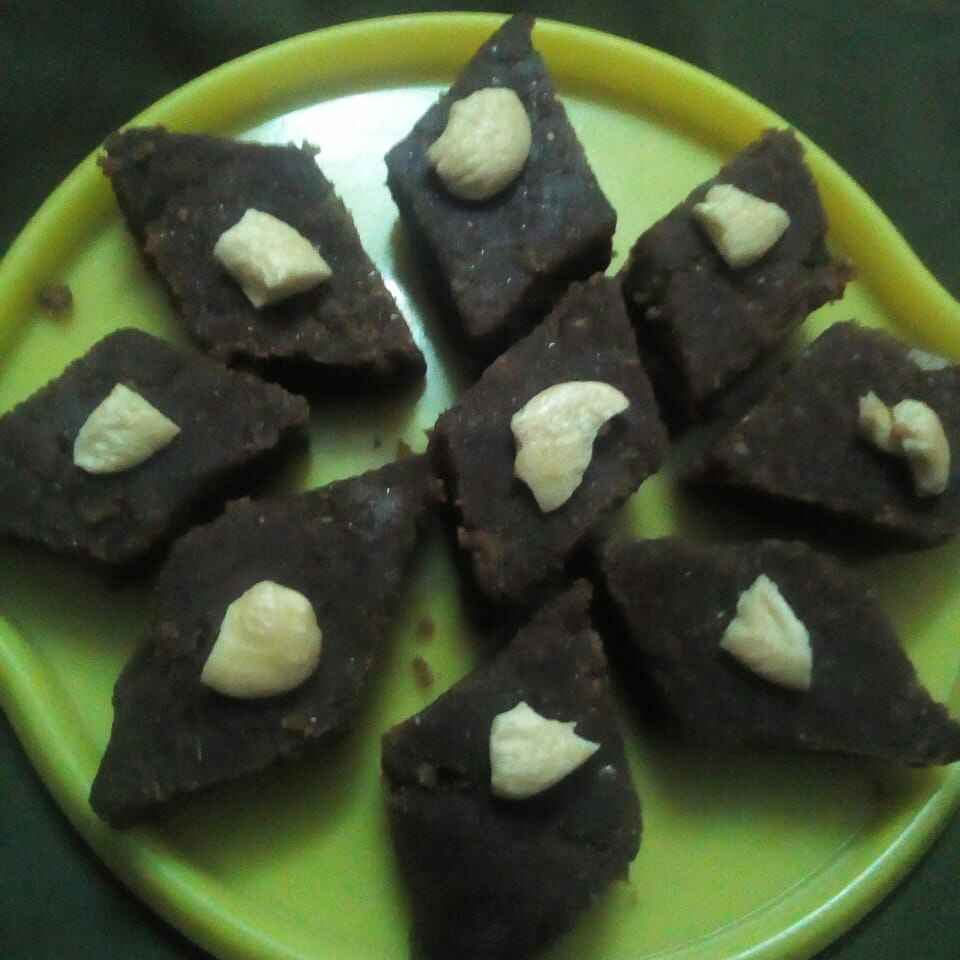How to make సజ్జ బర్ఫీ