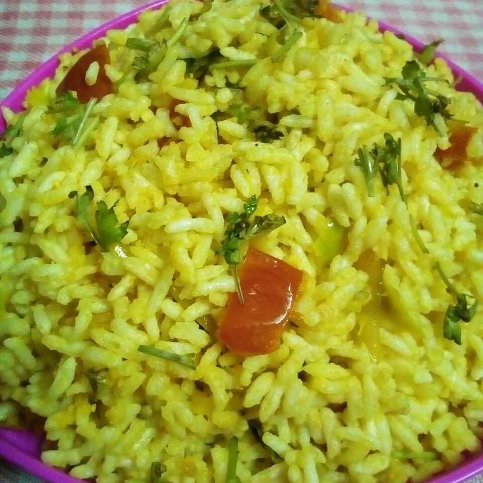 Photo of Puffed rice pulihora by Chinnaveeranagari Srinivasulu at BetterButter