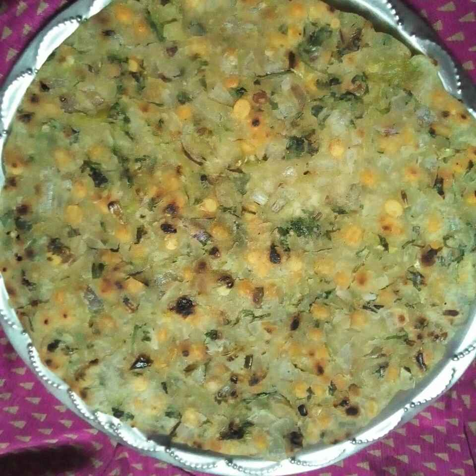 Photo of Rice flour  masala roti . by Chinnaveeranagari Srinivasulu at BetterButter
