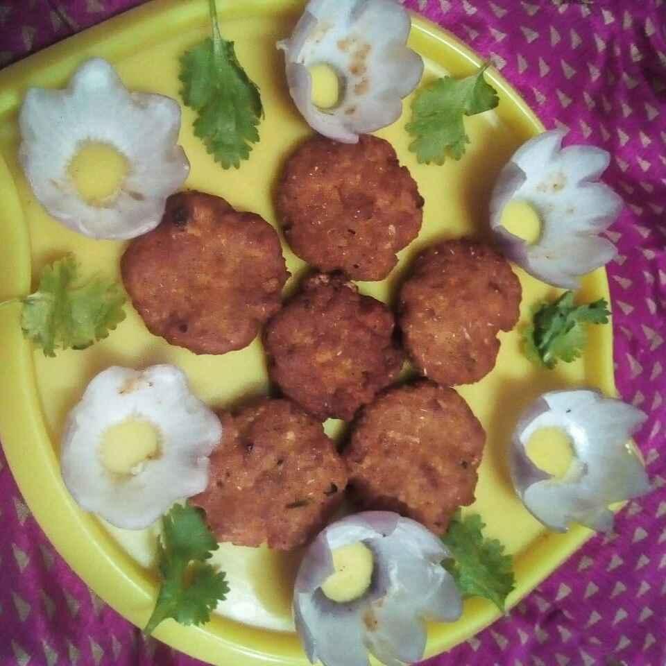 Photo of Chicken vada by Chinnaveeranagari Srinivasulu at BetterButter