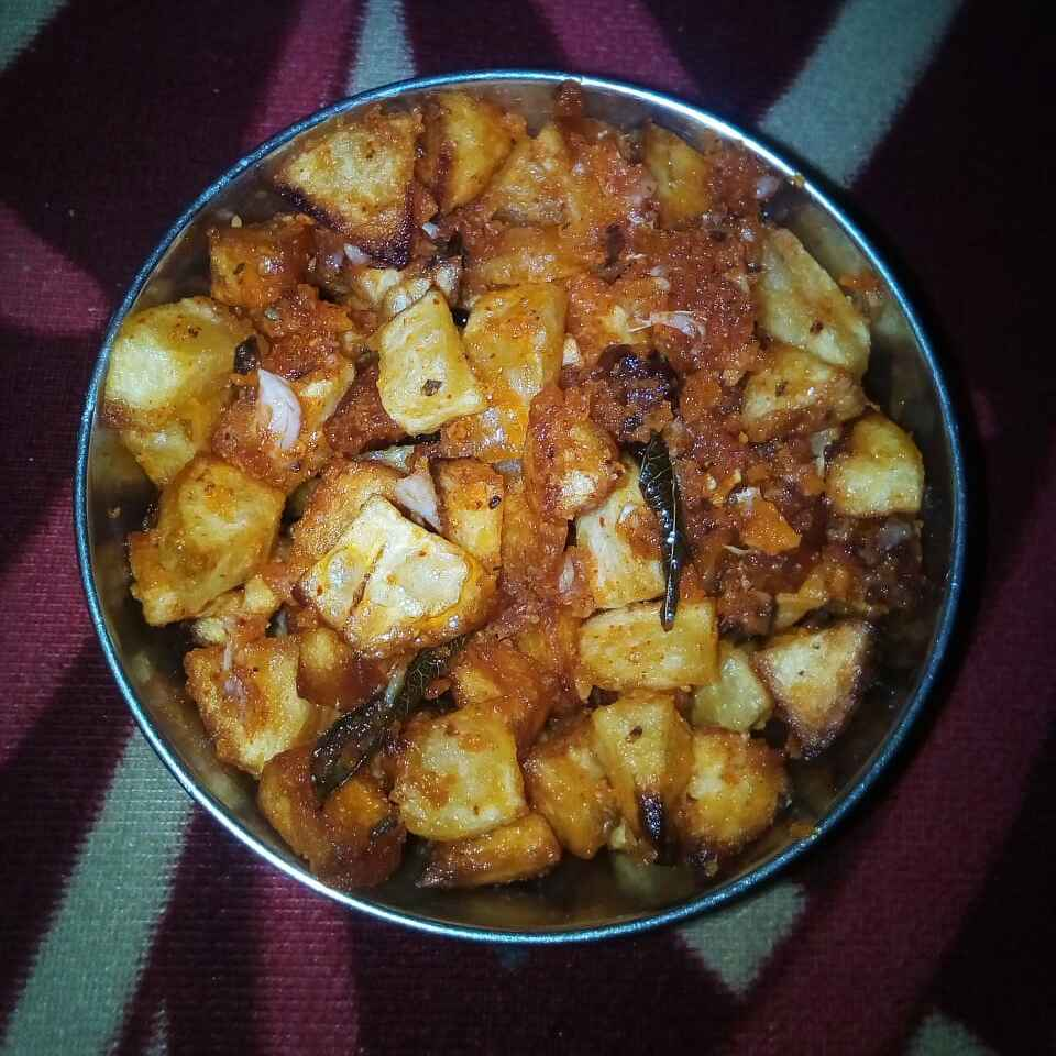Photo of Spicy aloo fry by Chinnaveeranagari Srinivasulu at BetterButter