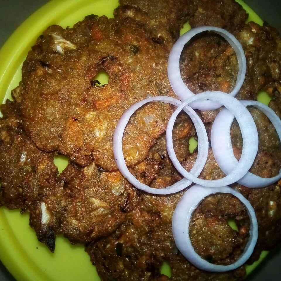 Photo of millet flour masala vada by Chinnaveeranagari Srinivasulu at BetterButter