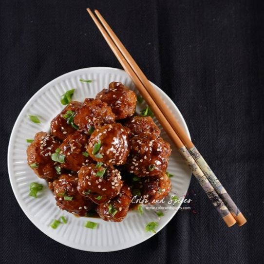 How to make Sweet and Spicy Asian Style Meatballs