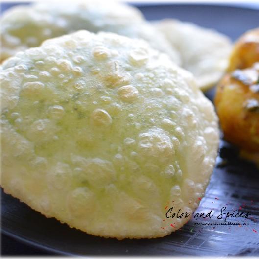 How to make Koraisutir kochuri (green pea stuffed kachouri)