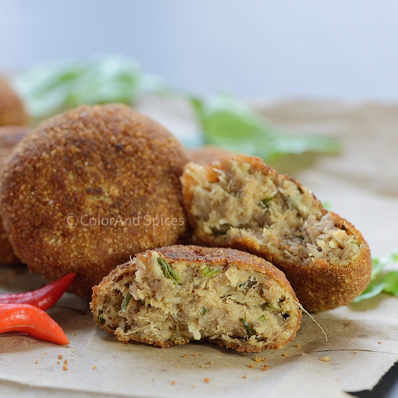 How to make Fish croquettes (macher chop)