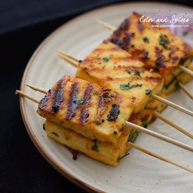 How to make Sweet And Spicy Pan Grilled Paneer